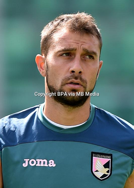Italian League Serie A -2015-2016 / <br /> ( Us Citta Di Palermo ) - <br /> Roberto Vitiello