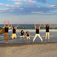Family Portraits by Beach Living Photography