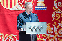 Real Madrid's president Florentino Perez at Seat of Government in Madrid, May 22, 2017. Spain.<br /> (ALTERPHOTOS/BorjaB.Hojas)