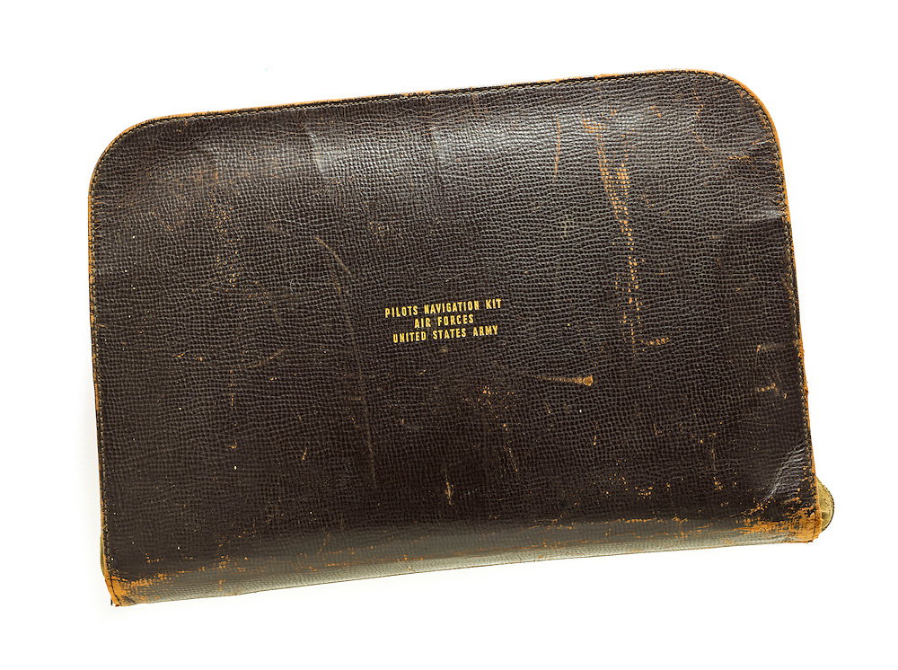 Issued to all pilots, this kit contained flight logs, maps, charts, and other information pertinent to a pilot's job.