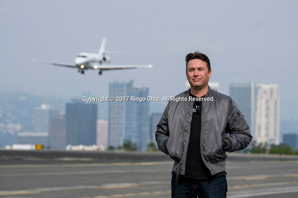 Rymann Winter, president of Proteus Aviation in Santa Monica.(Photo by Ringo Chiu/PHOTOFORMULA.com)<br /> <br /> Usage Notes: This content is intended for editorial use only. For other uses, additional clearances may be required.
