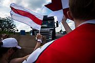 Blokada granicy z Białorusią w Bobrownikach - 8.06.2021