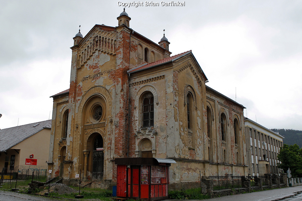 The Synagogue in Bytca, Slovakia on Sunday July 3rd 2011. (Photo by Brian Garfinkel)