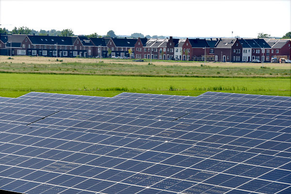 Nederland, the netherlands, 28-5-2018Zonnepark in de provincie Gelderland. Foto: Flip Franssen