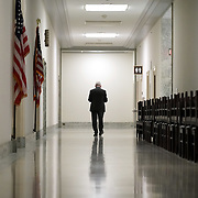 Director of the National Institute for Allergy and Infectious Diseases Dr. Anthony Fauci prepares to take a call during a break at a House Committee on Energy and Commerce Committee hearing to discuss the Trump administration's response to the COVID-19 pandemic on Tuesday, June 23, 2020.