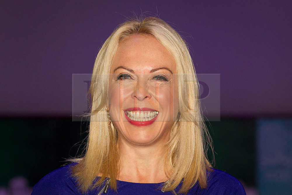© Licensed to London News Pictures. 14/11/2012. London, UK. Former Olympic ice skater Jayne Torvill is seen at the opening of the 2012 Ideal Home at Christmas show at Earl's Court, London, today (14/11/12). The show, running from the 14th to the 18th of November features over 600 exhibitors across 6 sections including; Interiors & Furnishings, Food & Drink, Home Improvements & Outdoor Living, Fashion & Beauty, Technology & Gadgets and Gifts & Decorations. Photo credit: Matt Cetti-Roberts/LNP