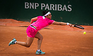 Ons Jabeur of Tunisia in action against Nao Hibino of Japan during the second round at the Roland Garros 2020, Grand Slam tennis tournament, on October 1, 2020 at Roland Garros stadium in Paris, France - Photo Rob Prange / Spain ProSportsImages / DPPI / ProSportsImages / DPPI