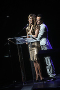 14 June 2010- Harlem, New York- l to r: Jennifer Lopez and Marc Anthony at The Apollo Theater's 2010 Spring Benefit and Awards Ceremony hosted by Jamie Foxx inducting Aretha Frankilin and Michael Jackson, and honoring Jennifer Lopez and Marc Anthony co- sponsored by Moet et Chandon which was held at the Apollo Theater on June 14, 2010 in Harlem, NYC. Photo Credit: Terrence Jennngs/Sipa