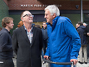 MARK POWER; DANIEL MEADOWS, , Opening of the Martin Parr Foundation party,  Martin Parr Foundation, 316 Paintworks, Bristol, BS4 3 EH  20 October 2017