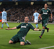 Manchester City v Real Madrid 211112