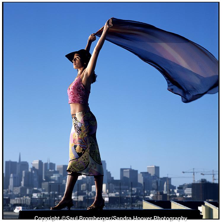 Client: San Francisco Bay Guardian -- Portrait of dancer Marissa Neff.