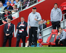 Cardiff City Manager, Russell Slade - Photo mandatory by-line: Dougie Allward/JMP - Mobile: 07966 386802 - 18/10/2014 - SPORT - Football - Cardiff - Cardiff City Stadium - Cardiff City v Nottingham Forest - Sky Bet Championship