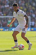 Leeds United midfielder Alex Mowatt   during the Sky Bet Championship match between Middlesbrough and Leeds United at the Riverside Stadium, Middlesbrough, England on 27 September 2015. Photo by Simon Davies.