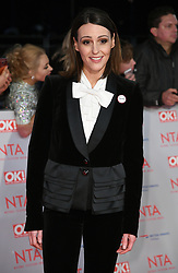 Suranne Jones attending the National Television Awards 2018 held at the O2, London. Photo credit should read: Doug Peters/EMPICS Entertainment