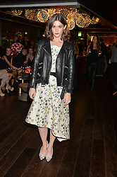 SAI BENNETT at the Launch Of Osman Yousefzada's 'The Collective' 4th edition with special guest collaborator Poppy Delevingne held in the Rumpus Room at The Mondrian Hotel, 19 Upper Ground, London SE1 on 24th November 2014, sponsored by Storm models and Beluga vodka.