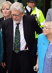 """Artist and television personality Rolf Harris arrives with his wife Alwen Hughes The City of Westminster Magistrates Court, London, England. Mr Harris, who was arrested in March by police officers working for Operation Yewtree, has been charged with nine counts of indecent assault on teenage girls and four counts of making indecent images of children, United Kingdom. Monday, 23rd September 2013. Picture by Nils Jorgensen / i-Images<br /> File photo - Rolf Harris is facing three further prosecutions for sexual assault including one against girl """"aged seven or eight"""", prosecutors have said.<br /> Photo filed Monday 23rd December 2013"""