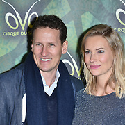 London, England, UK. 10th January 2018. Brendan Cole, Zoe Hobbs arrives at Cirque du Soleil OVO - UK premiere at Royal Albert Hall.