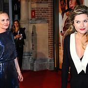 NLD/Amsterdam/20150420 - Premiere de Ontsnapping, Kimberly Klaver en Lauren Verster