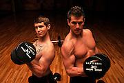 Mason Sharp, (left), and Tyler Graunke.  Copyright ©Norma Jean Gargasz.  All rights reserved.  www.gargaszphotos.com