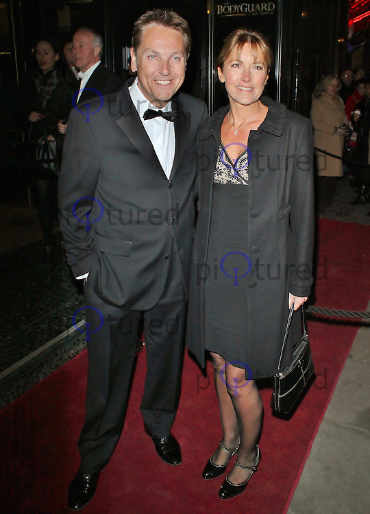 LONDON - December 05: Brian Conley at The Bodyguard - Gala Night (Photo by Brett D. Cove)
