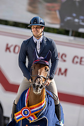 Kuipers Doron, NED, Just Special VK<br /> Nationaal Kampioenschap KWPN<br /> 6 jarigen springen final<br /> © Hippo Foto - Dirk Caremans<br />  19/08/2020