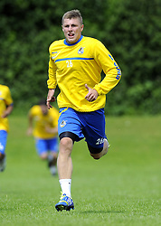 Bristol Rovers' Ryan Brunt - Photo mandatory by-line: Joe Meredith/JMP - Tel: Mobile: 07966 386802 24/06/2013 - SPORT - FOOTBALL - Bristol -  Bristol Rovers - Pre Season Training - Npower League Two