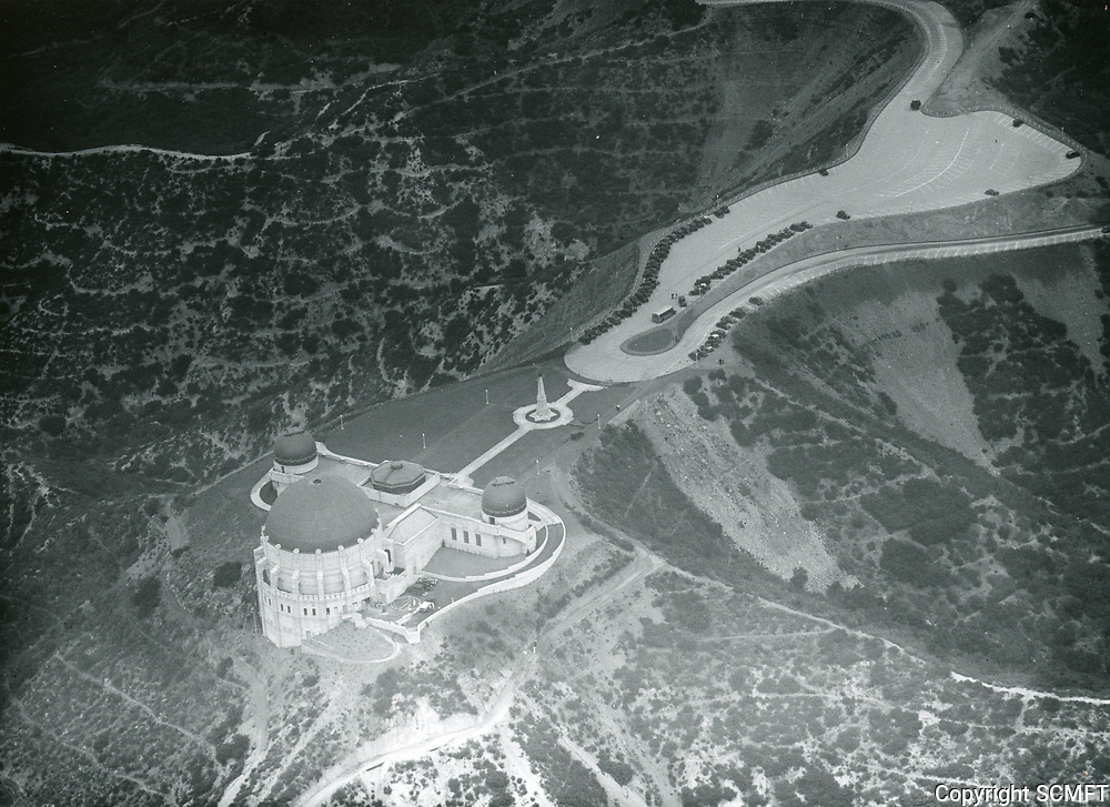 1935 Aerial photo of Griffith Park Observatory