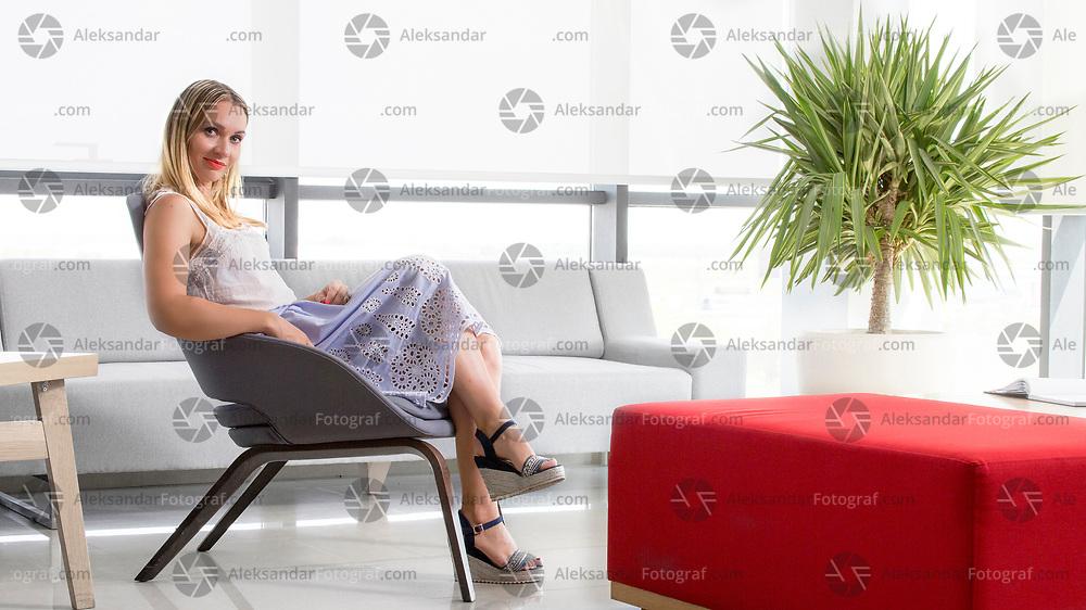 Businesswoman portrait in the office