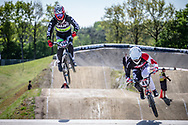 #194 (VILLEGAS Federico) ARG during practice of Round 3 at the 2018 UCI BMX Superscross World Cup in Papendal, The Netherlands