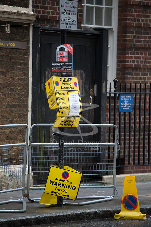 XXXXX the London Wing at St Mary's Hospital in Paddington, London, where the Duchess of Cambridge is expected within the next few weeks for the birth of her third child.. London, April 10 2018.
