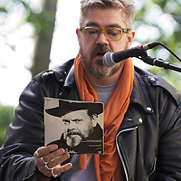 Phil Jupitus<br /> On stage at the Stoke Newington Literary Festival. 8 June 2013<br /> <br /> Picture by David X Green/Writer Pictures