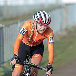 04-11-2018: Wielrennen: EK veldrijden: Rosmalen<br />Inge van der Heijden
