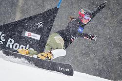 Alena Zavarzina (RUS) competes during Qualification Run of Women's Parallel Giant Slalom at FIS Snowboard World Cup Rogla 2016, on January 23, 2016 in Course Jasa, Rogla, Slovenia. Photo by Ziga Zupan / Sportida