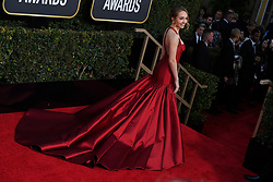January 6, 2019 - Los Angeles, California, U.S. - Holly Taylor from The Americans during red carpet arrivals for the 76th Annual Golden Globe Awards at The Beverly Hilton Hotel. (Credit Image: © Kevin Sullivan via ZUMA Wire)