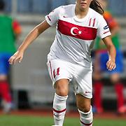 Turkey's Leyla GUNGOR during their UEFA 2013 Woman's Euro Qualifying Group Stage Group 2 soccer match Turkey betwen Spain at Kasimpasa Recep Tayyip Erdogan stadium in Istanbul September 17, 2011. Photo by TURKPIX