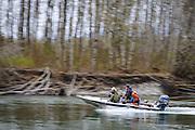 Jet boat. Kalum River, BC.