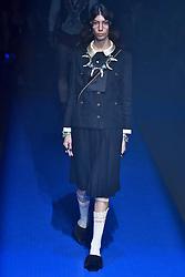 Model Oyku Bastas walks on the runway during the Gucci Fashion Show during Milan Fashion Week Spring Summer 2018 held in Milan, Italy on September 20, 2017. (Photo by Jonas Gustavsson/Sipa USA)