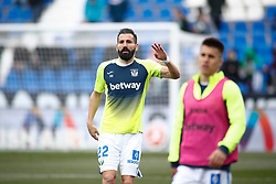 February 10, 2019 - Leganes, MADRID, SPAIN - Dimitrios Siovas of Leganes during the spanish football championship La Liga played between CD Leganes and Real Betis Balompié SAD at Butarque Stadium, Madrid, Spain. February 10th 2019. (Credit Image: © AFP7 via ZUMA Wire)