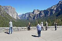 This visitor viewpoint of Yosemite Valley, Yosemite National Park, California, USA, is perenially popular with photographers. 201304181593<br /> <br /> Copyright Image from Victor Patterson, 54 Dorchester Park, Belfast, UK, BT9 6RJ<br /> <br /> Tel: +44 28 9066 1296<br /> Mob: +44 7802 353836<br /> Voicemail +44 20 8816 7153<br /> Skype: victorpattersonbelfast<br /> Email: victorpatterson@me.com<br /> Email: victorpatterson@ireland.com (back-up)<br /> <br /> IMPORTANT: If you wish to use this image or any other of my images please go to www.victorpatterson.com and click on the Terms & Conditions. Then contact me by email or phone with the reference number(s) of the image(s) concerned.