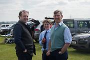 GILES LAWTON; ARCHIE BRAMWELL; JONATHAN BRAMWELL,  Heythrop Point to Point, Cocklebarrow, 2 April 2017.