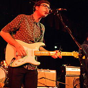WASHINGTON, DC - January 22nd, 2012 - Martin Courtney of Real Estate performs at the Black Cat in Washington, D.C. The band received critical acclaim for their sophomore album, Days, released in October 2011. (Photo by Kyle Gustafson/For The Washington Post)