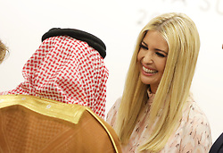 """Saudi Crown Prince Mohammed ben Salmane and Ivanka Trump (Advisor to the President of the United States) - Side event organized by the Japanese Prime Minister, on the theme """"Promoting the place of women at work"""" at the Intex Osaka congress center at the G20 summit in Osaka, Japan, on June 29, 2019. Photo by Dominque Jacovides/Pool/ABACAPRESS.COM"""