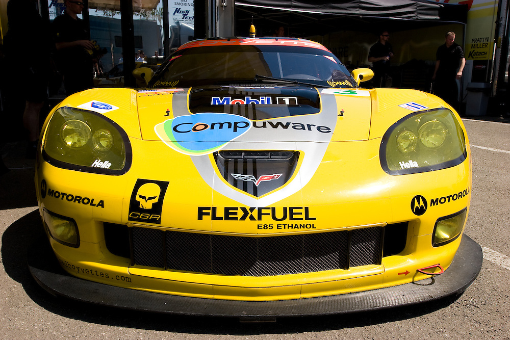 ALMS race 4/24/09 in Long Beach, CA. Driven by Jan Magnussen and Johnny O'Connell. Did not finish the race. position 21.