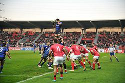 November 18, 2017 - Toulouse, France - Touche Japon vs Tonga (Credit Image: © Panoramic via ZUMA Press)