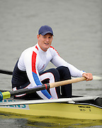Caversham, Great Britain,  Marcus BATEMAN, GB Rowing media day at the Redgrave Pinsent Rowing Lake. GB Rowing Training centre. Wed. 20.04.2008  [Mandatory Credit. Peter Spurrier/Intersport Images] Rowing course: GB Rowing Training Complex, Redgrave Pinsent Lake, Caversham, Reading
