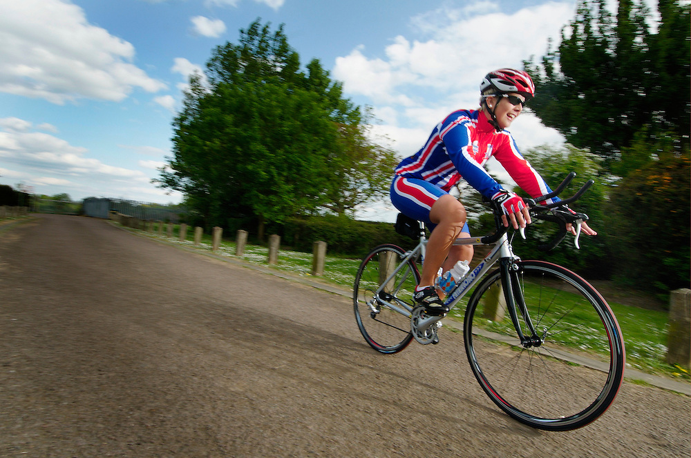 Ottilie Morgan from Luton, Beds. World Transplant Games competitor