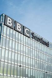 Headquarters of BBC Scotland at Pacific Quay in Glasgow