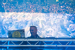 Norman Cook, performing as Fatboy Slim, on the main stage..Rockness, Friday 11th June..Pic ©2010 Michael Schofield. All Rights Reserved.