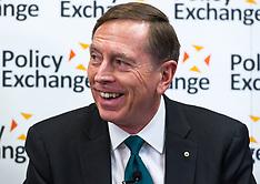 General Petraeus Policy Exchange  18102018