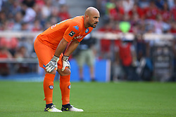 August 1, 2017 - Munich, Germany - Pepe Reina of Napoli during the first Audi Cup football match between Atletico Madrid and SSC Napoli in the stadium in Munich, southern Germany, on August 1, 2017. (Credit Image: © Matteo Ciambelli/NurPhoto via ZUMA Press)